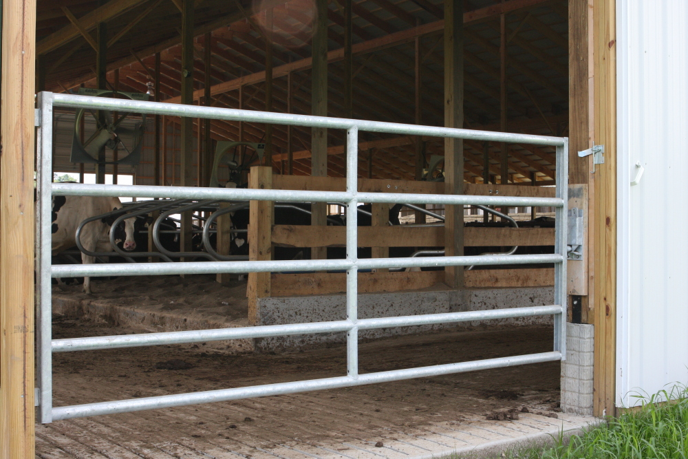 Steinway Equipment Barn Gates