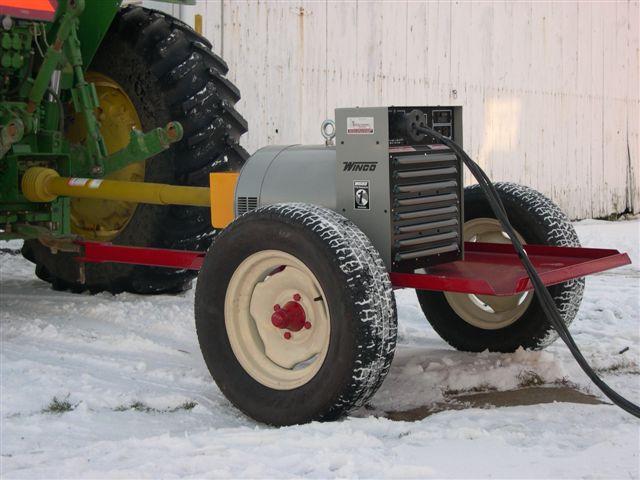 Steinway Generator Trailer